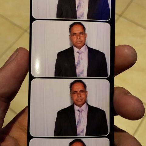 Found this gem by the photobooth at the wedding I was filming.