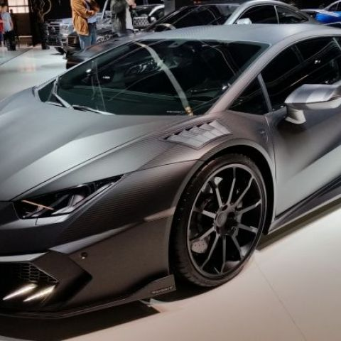 The Mansory Lamborghini Huracán at the IAA in Frankfurt 2015