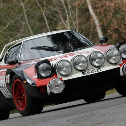 Lancia Stratos Pirelli in competition