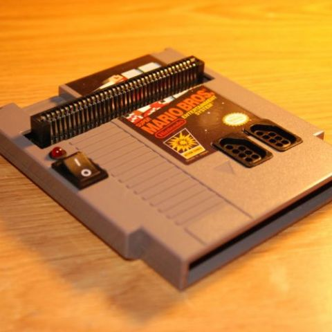 NES built into an NES cartridge
