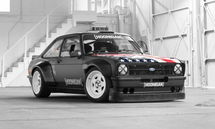 Ken Block's new 1978 Ford Escort Mk2 RS