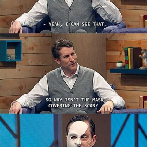 The phantom of comedy bang bang