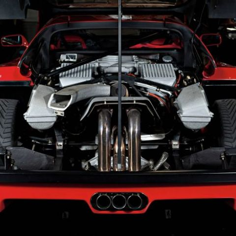 The F40's engine