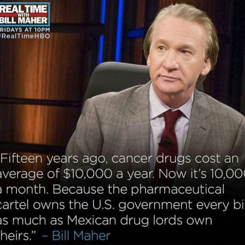 One of the rare times I like what Bill Maher is saying