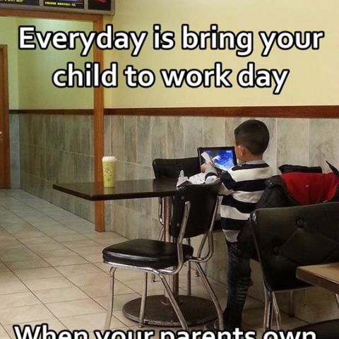 Bring your child to work day