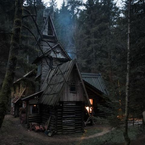 A cabin in the Bosnian woods