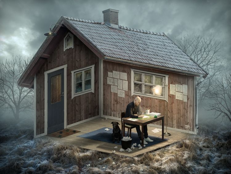 The Architect' by Erik Johansson really confuses my mind!