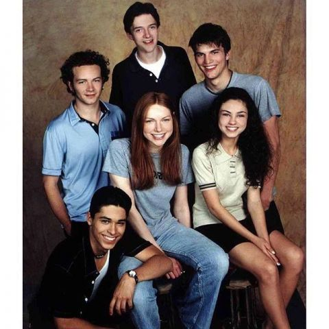 First picture ever taken of the cast of That 70s Show