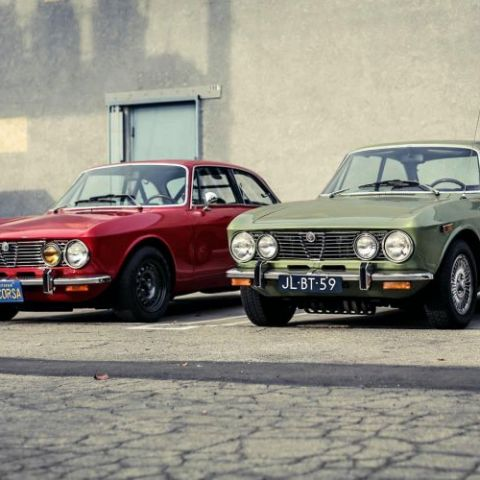 Gorgeous Pair of Alfa 2000 GTV's