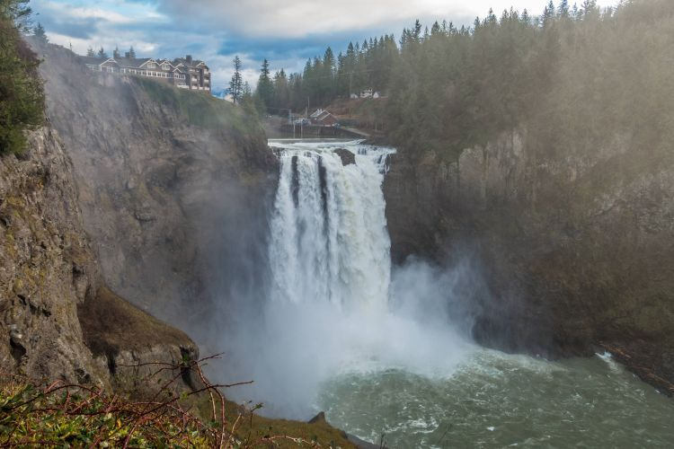 Snoqualmie Fall Is Spectacular.