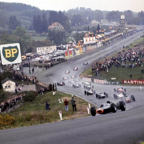 Belgian Grand Prix in 1965