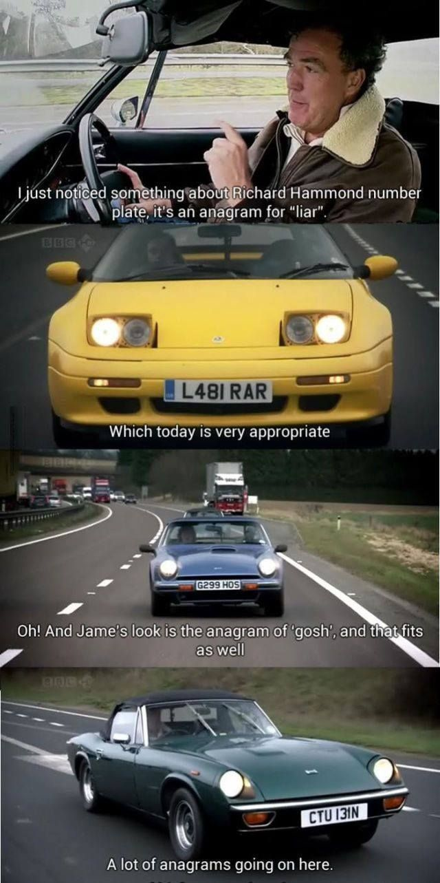 Im not that interested in cars, but this show is genius