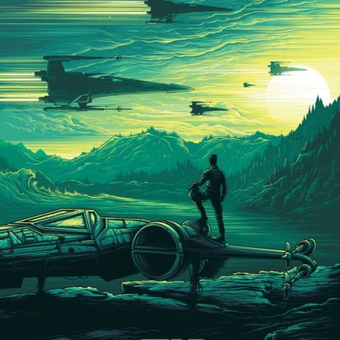 Star Wars: Episode VII The Force Awakens (2015) by Dan Mumford