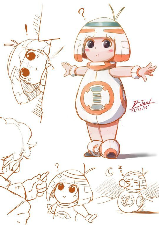 If BB-8 was a child