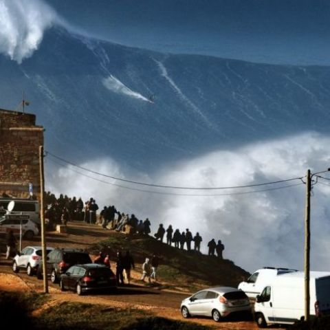 The biggest surf wave I have ever seen