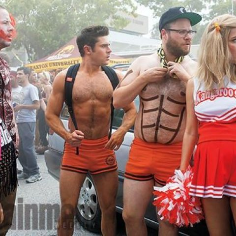 First official image from Neighbors 2: Sorority Rising (Zac Efron, Seth Rogen)