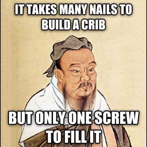 Wise Confucius says...
