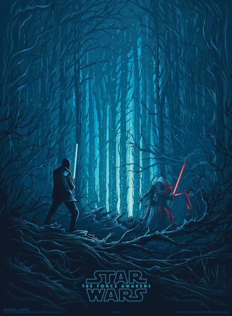 Star Wars: Episode VII The Force Awakens (2015) by Dan Mumford (4 of 4)