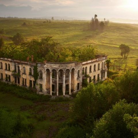 The ruins of a college in Gali, Abkhazia by Amos Chapple