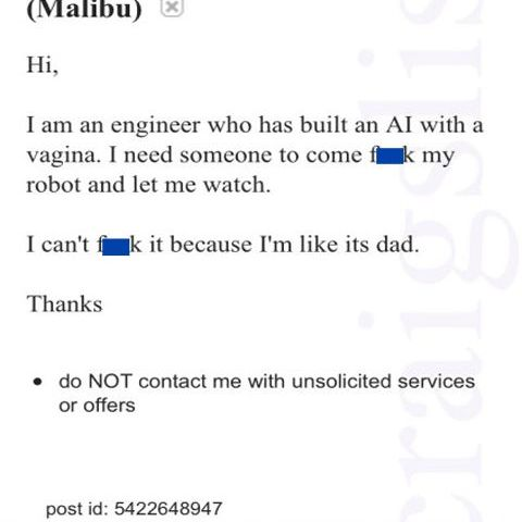 Craigslist at its finest