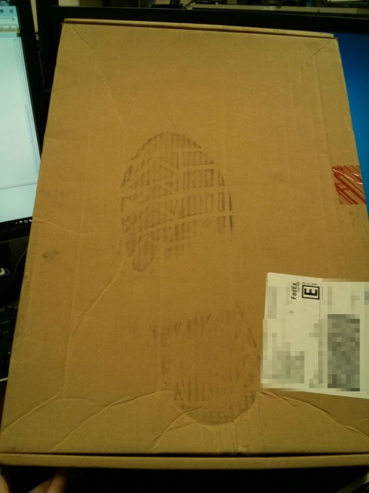 Ordered a warranty replacement motherboard from Dell. FedEx shipped...