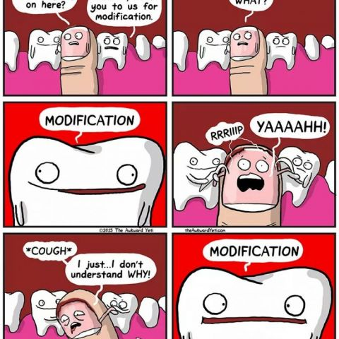 just love these awkward yeti comics