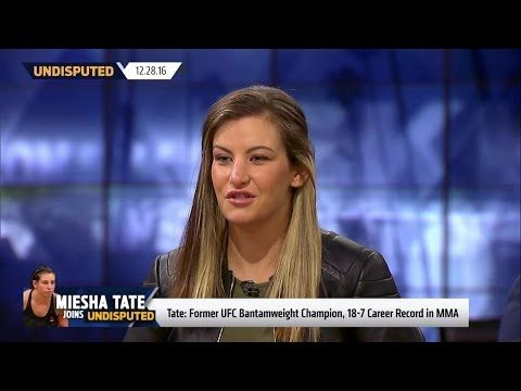 Tate talks UFC 207: Nunes' right hand will 'ring Ronda's bell' (FULL INTERVIEW) | UNDISPUTED