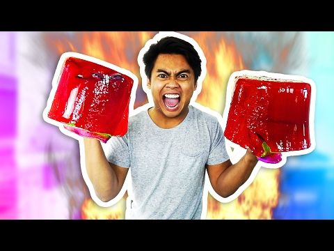 DIY JELLO BOXING GLOVES!