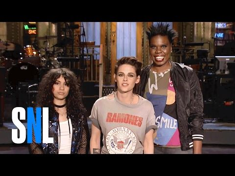 Leslie Jones Is a Big Fan of SNL Host Kristen Stewart & Alessia Cara