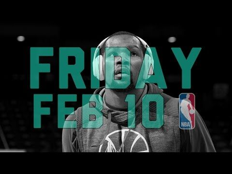 NBA Daily Show: Feb. 10 - The Starters