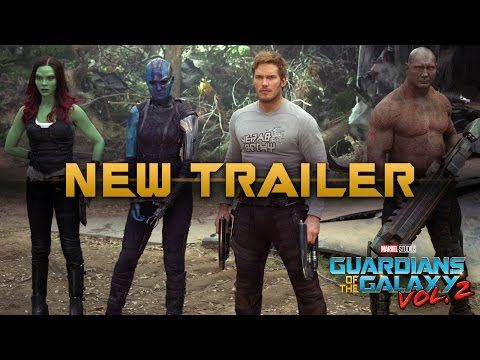 NEW Guardians of the Galaxy Vol. 2 Trailer - WORLD PREMIERE