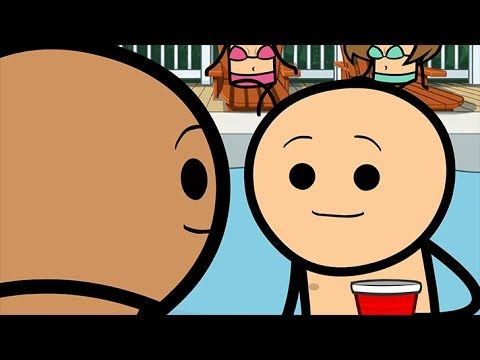 Pool Party - Cyanide & Happiness Shorts