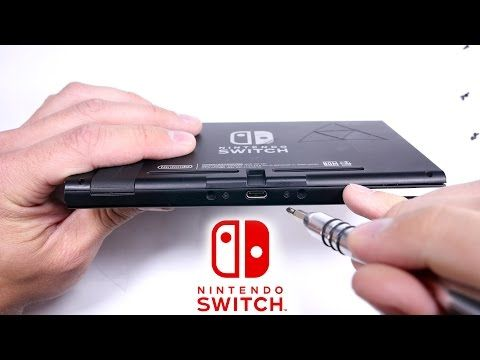Nintendo Switch Teardown - Take apart - Inside Review