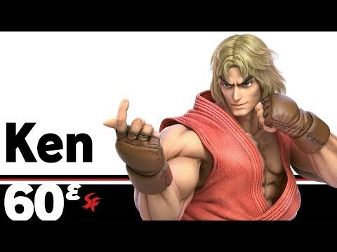 60ᵋ: Ken – Super Smash Bros. Ultimate