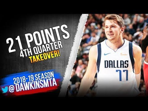 Luka Doncic Full Highlights 2018.12.08 Mavs vs Rockets - 21 Pts, 4th Quarter TAKEOVER! | FreeDawkins