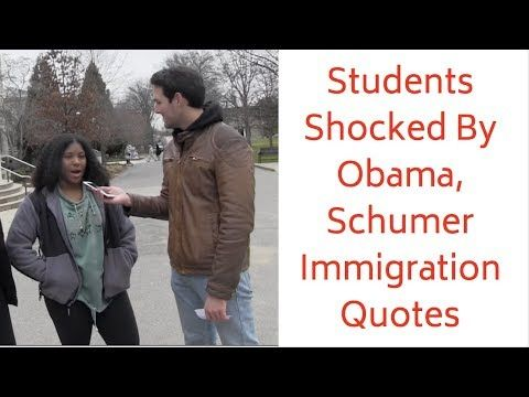 Students Hate Trump's Immigration Quotes… Don't Realize They're From Democrats