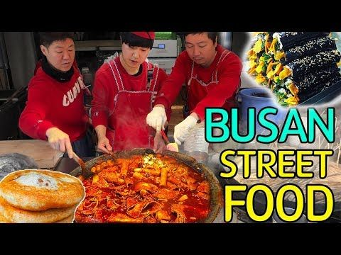 TRADITIONAL Korean STREET FOOD Market Tour in Busan South Korea