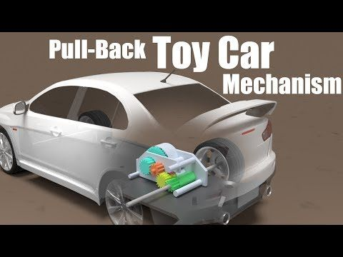 How does a Pull-Back Toy Car work?