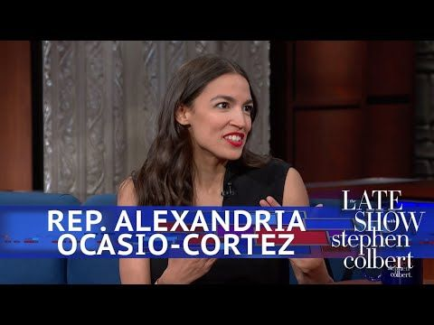 Rep. Ocasio-Cortez And Stephen Eat Ben & Jerry's