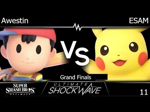 USW 11 - TLOC | Awestin (Ness) vs PG | ESAM (Pikachu) Grand Finals - SSBU