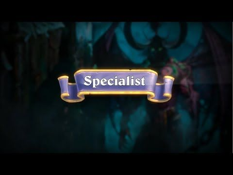 Introducing: Specialist Format