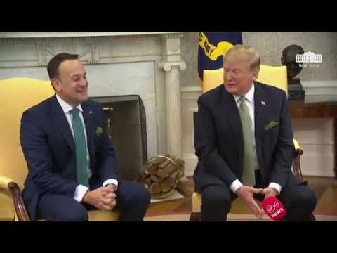 President Trump Meets with the Prime Minister of Ireland