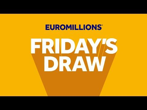 The National Lottery 'EuroMillions' draw results from Friday 2nd April 2021