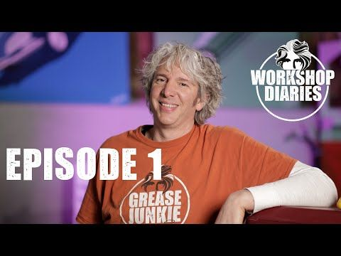 Edd China's Workshop Diaries Episode 1 (or What have I been doing all this time? Part 2)