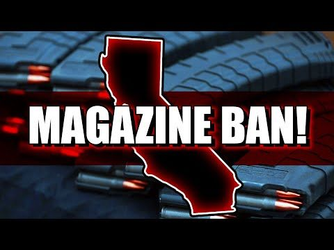 22 STATES FIGHT CALIFORNIA'S MAGAZINE BAN!!! Duncan v. Becerra