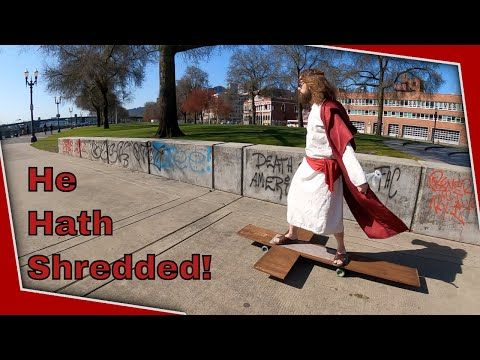 Jesus skates for your sins Part 2 (Portland Edition)