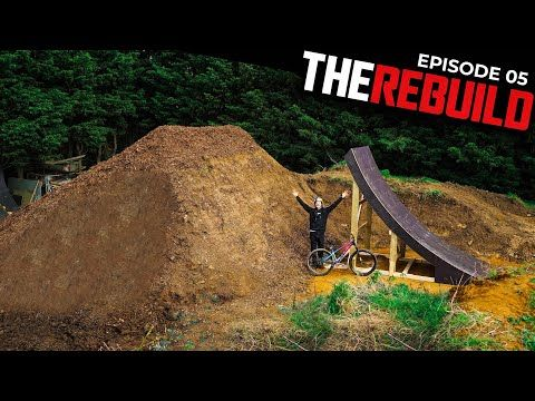 RIDING THE BIGGEST RAMP I'VE EVER BUILT!! REBUILD EP 5