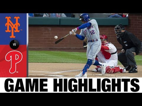 Mets vs. Phillies Game Highlights (4/5/21) | MLB Highlights