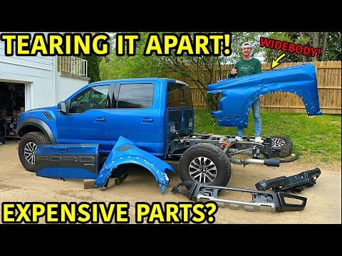 Rebuilding A Wrecked 2019 Ford Raptor Part 3