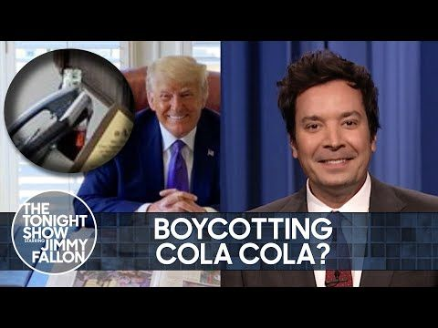 Trump Wants His Supporters to Boycott Coca Cola | The Tonight Show Starring Jimmy Fallon